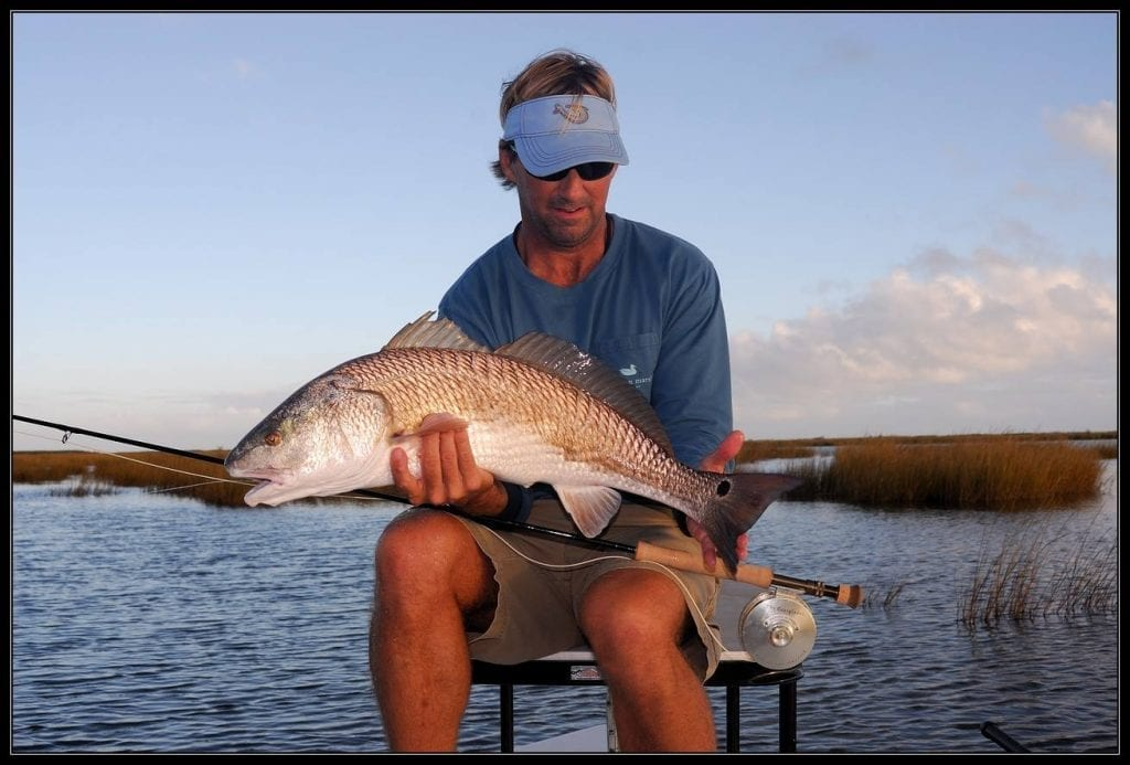 richard schmidt fishing for redfish