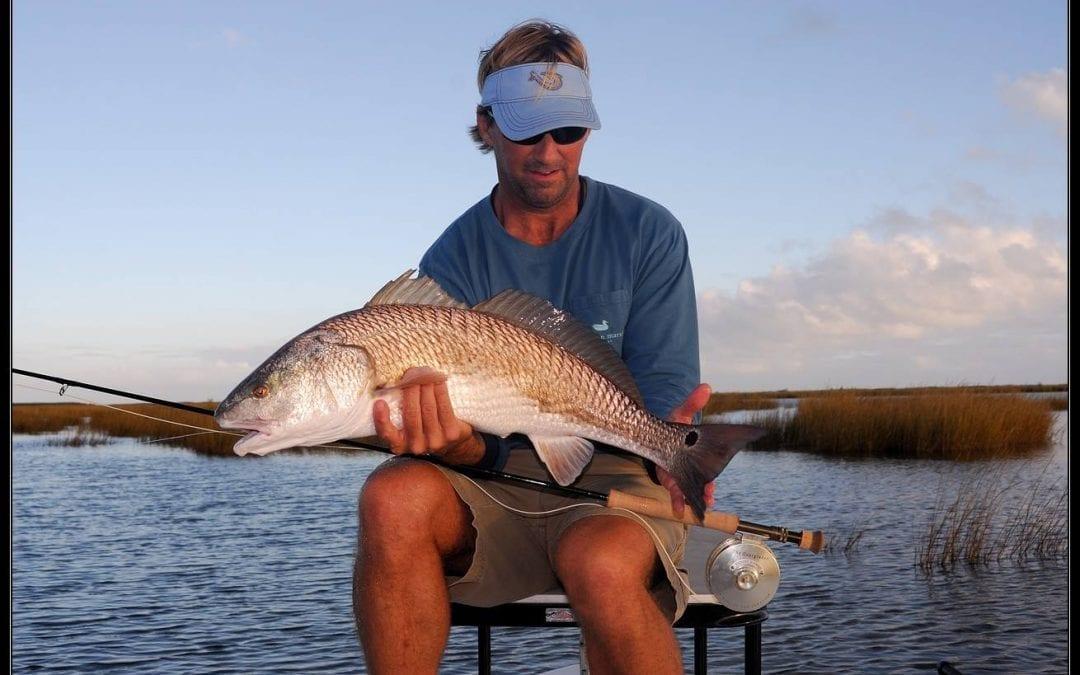 richard schmidt fishing for redfish